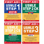 Usmle First Aid Kit Livros Originais Steps 1 2 ck cs 3