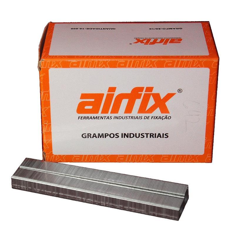 Kit Combo Grampeador Pneumático 80 + Grampos de 16mm - Ultra