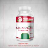 Carbonato de Cálcio 500mg + vit d3 400ui 60 Cápsulas