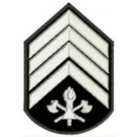 Divisa 2° Sargento  bordada - CBMMG - PAR