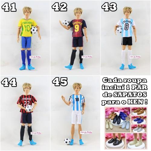 Comprar Roupa Para Boneco Ken ( Barbie ) + Sapato + Acessório Brinde -  Apenas R  34 0e97e7a8f12a9