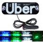 Placa Uber 99 Pop Led 45 Leds C/ Plug Cinzeiro Liga Desliga