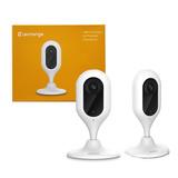 Câmera de segurança interna Wifi 1080p com Microfone LeChange Cue Original