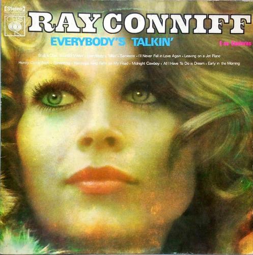 Ray Conniff Lp 1970 Everybody's Talkin' 15517 Original