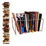 Organizador Prateleira Livros Revisteiro 15 Divisória 32, 5cm