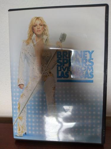 Dvd Britney Spears Live From Las Vegas. Raro Original