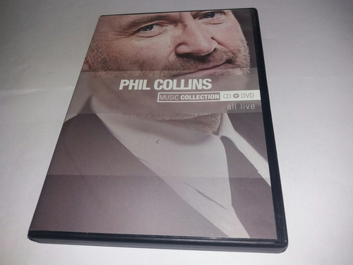 Dvd + Cd : Phil Collins - All Live - No Jaquet Required 1985 Original