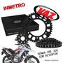 Kit Relação Xre300 Com Retentor Vaz Extreme 3974x