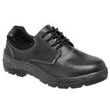 Sapato de Segurança Preto com Fechamento em Cadarço Vaqueta Bota Brasil com Bico PVC  110-34