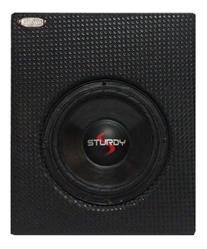Caixa Slim Pick-up P/ Traz Do Banco 200w Rms Saveiro Strada Original