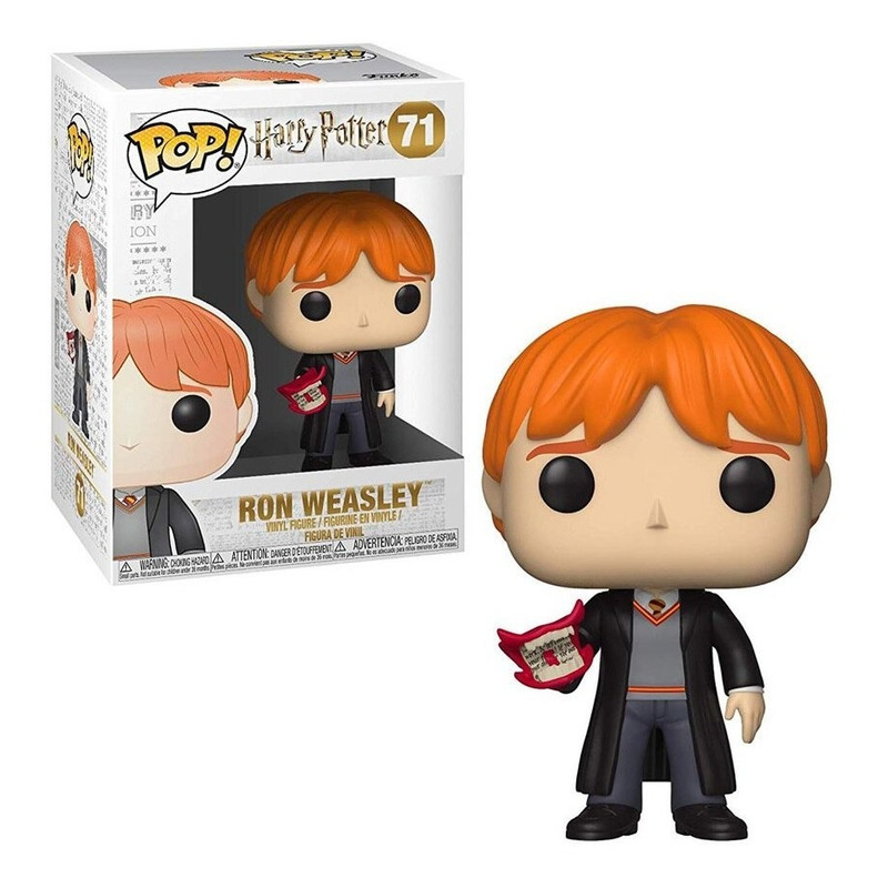Funko Pop Ron Weasley with Howler #71 - Harry Potter - Movies