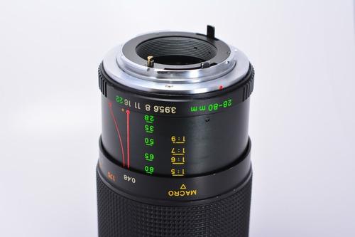Lente Yashica Zoom 28-80mm F/3.9 Macro Full Frame Mont C/y Original