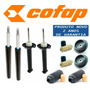 Kit 4 Amortecedor Saveiro G3 G4 Cofap Kits Coxim