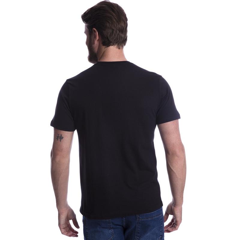 Camiseta Long Island Coruja Preta