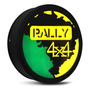 Capa Estepe Personalizada Pneu Ecosport Crossfox Aircross Jimny Troller Aro 16 Modelo Rally 4x4