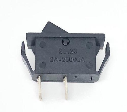Chave Interruptor Tecla Liga-desliga 20123-m1f-t2f-e3-s Original