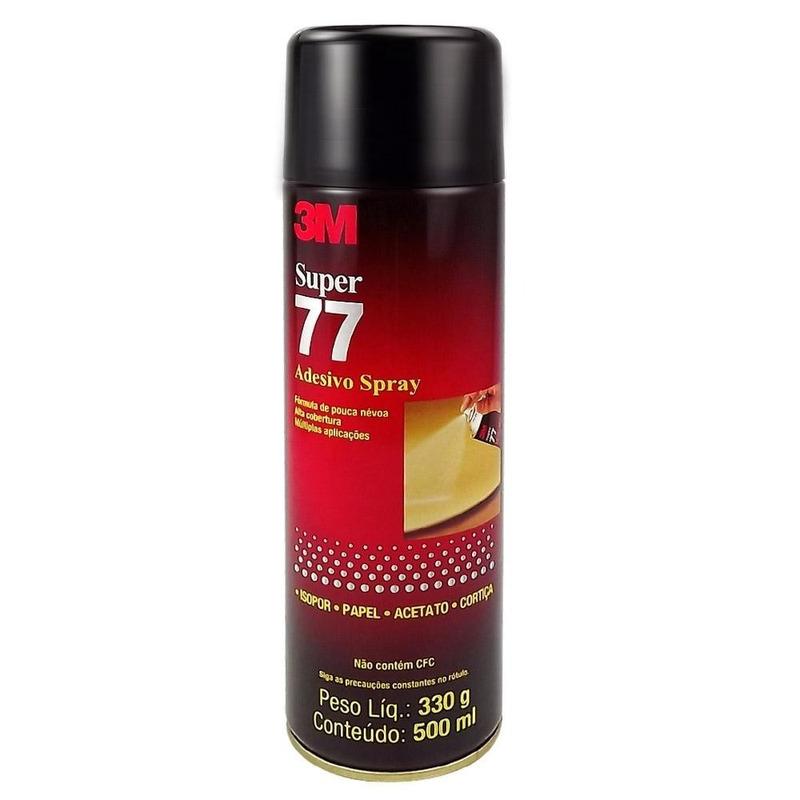 Adesivo 3M em Spray 77 LT - 330g
