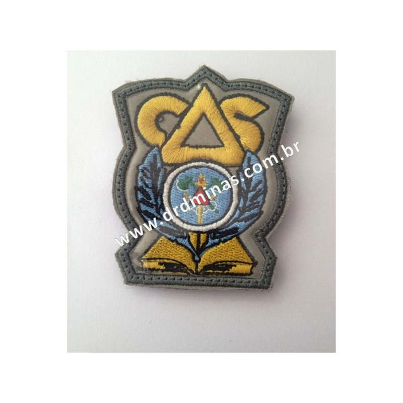 Patch / Distintivo Bordado CAS - CBMMG