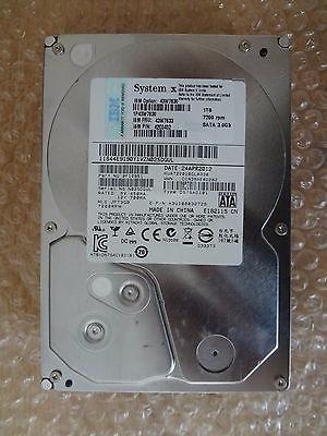 Hd Ibm 1tb 3.5'' Sata 7.2k Server  43w7633 - Def. Mecanico