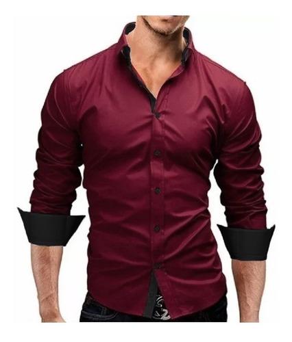 Comprando 3  - Camisa Social Slim Fit Urban Original