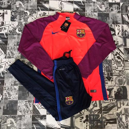 Agasalho Conjunto Nike Barcelona 2017 Treino - E. Sports à venda em ... 603cee9d17c16