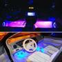 Led Neon Luz Azul Adesivo Interno Acessórios Carro Tuning