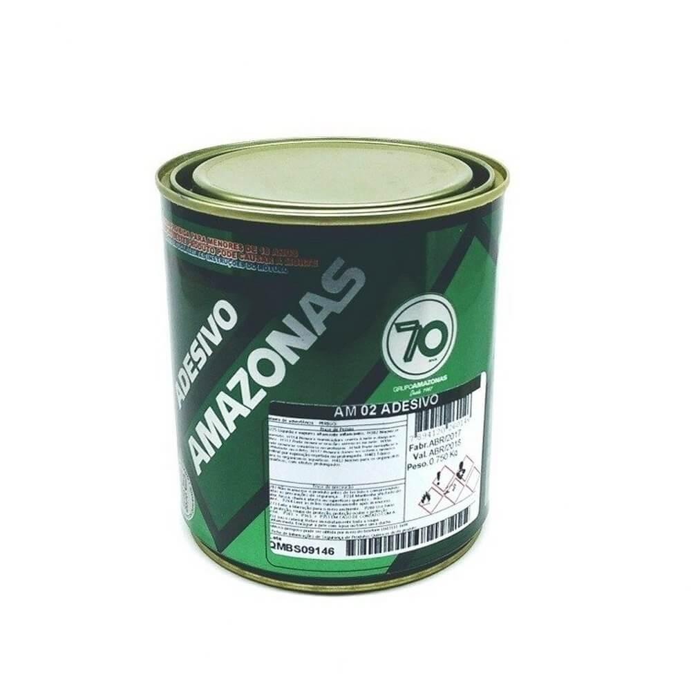 4ddd0c0f652 Cola Adesivo Amazonas AM 02 750g R  24.48 - CVI Tecidos e Decoração