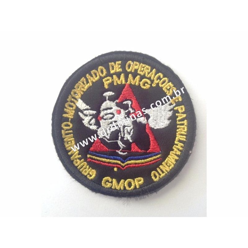 Distintivo Bordado GMOP