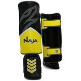 Protetor de Canela New Extreme Naja - P Amarelo