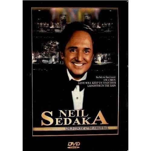 Dvd Deil Sedaka Live In Concert At The Jubilee Hall - Orig L Original