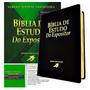 Bíblia De Estudo Do Expositor Cor Preta Original Sbb Caixa