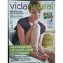 Revista Vida Natural / Massagem Nos Pés/ Emagreça Com Fitote