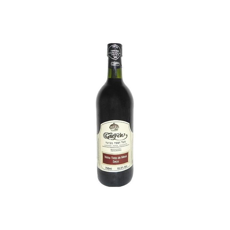 Vinho Tinto Seco Izabel/Bordô 750ml (cxa c/ 12 uni) - Guéfen