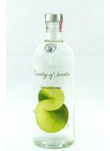 E-vodka Absolut Pears -1l Original