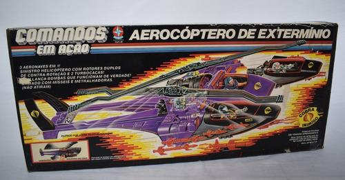 Comandos Em Ação - Aerocóptero De Extermínio - Só A Caixa! Original