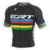 Camisa Ciclismo Mtb Ert Elite Campeão Mundial Preto