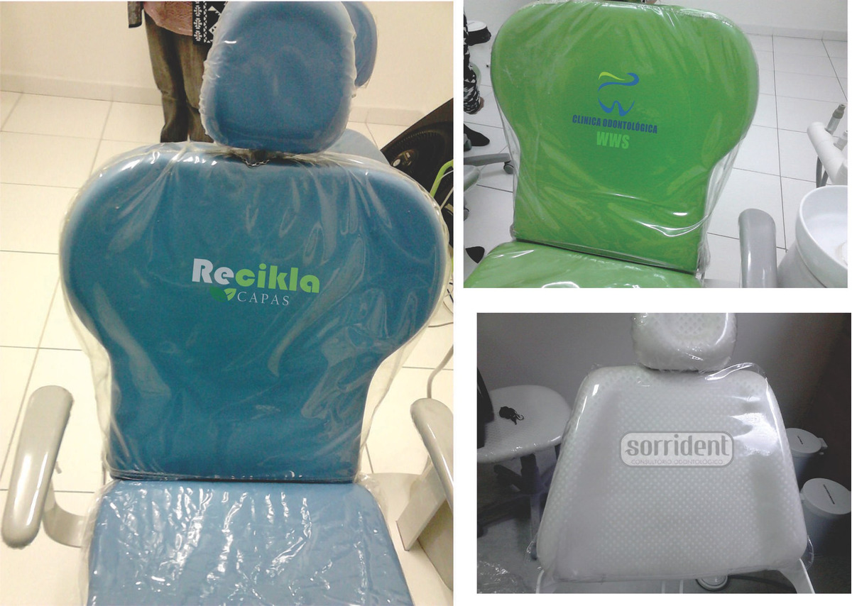 Capa para equipo em plástico personalizada