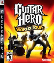 Guitar Hero World Tour Ps3 Midia Fisica Semi Novo Original