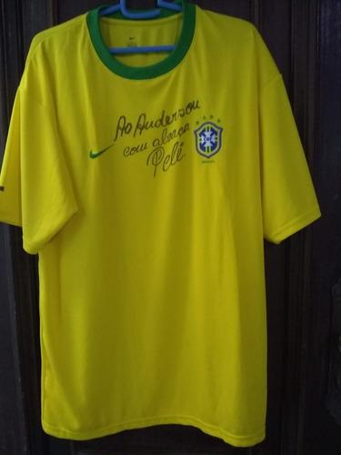 Camisa  Estrelas-nike-autografado Pele Original