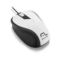 Mouse Branco 1200 DPI Multilaser  MO224