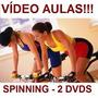 Curso De Spinning Aulas Em 2 Dvds Ghj