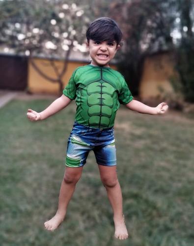 Fantasia Infantil Super Heróis - Pronta Entrega Original