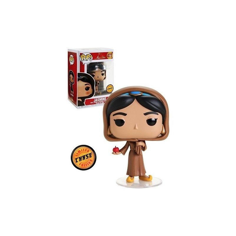 Funko Pop Jasmine Chase Edition #477 - Jasmine in Disguise - Aladdin - Disney
