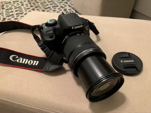 Câmera Canon Rebel T5i Lente Ef-s 18-135mm F/3.5-5.6 Is Stm Original