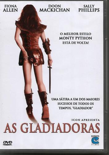 Dvd As Gladiadoras - Inglaterra - Lacrado - Novo Original