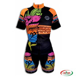 CONJUNTO CICLISMO FEM BLACK MOUNTAIN