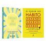 Kit Livros O Milagre Da Manhã O Poder Do Hábito