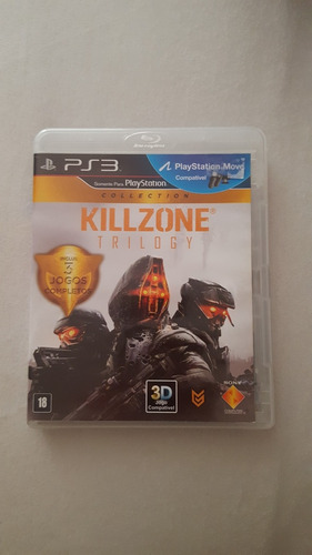 Jogo De Ps3 Killzone