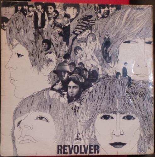 Lp Beatles Revolver Stereo 1966 Inglês Sold In Uk Pcs 7009 Original