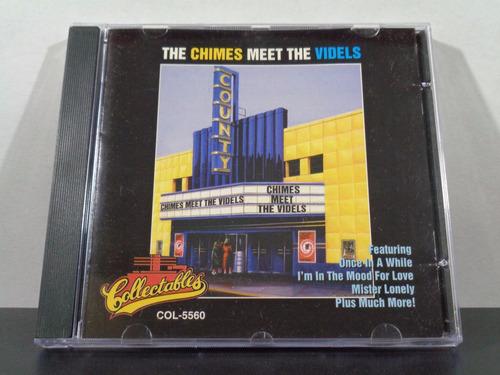The Chimes Meet The Videls Cd Orig Imp Collectables Soul Av8 Original